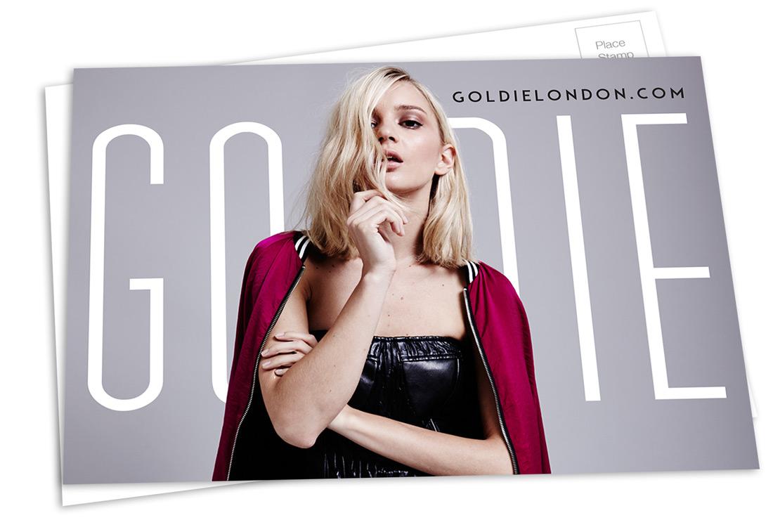 GoldiePostCard